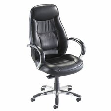<strong>Lorell</strong> Ridgemoor High-Back Executive Chair with Arms