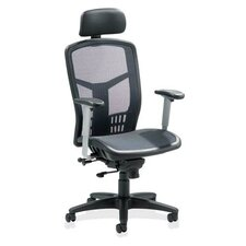 High-Back Mesh Office Chair with Arms