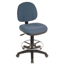 Pneumatic Adjustable Multi-Task Drafting Stool with Footring