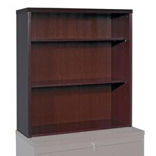 "<strong>Lorell</strong> Fluted Edge Furniture 39"" Bookcase"