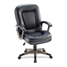 Mid-Back Office Chair in Black