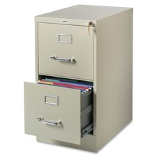 <strong>Lorell</strong> 2 Drawer Commercial-grade Vertical File