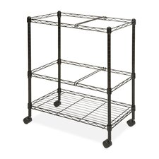 <strong>Lorell</strong> 2-Tier Mobile Filing Cart