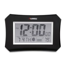<strong>Lorell</strong> LCD Wall/Alarm Table Clock