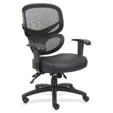 <strong>Lorell</strong> Mid-Back Mesh Executive Chair
