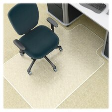 <strong>Lorell</strong> Antistatic Diamond Beveled Edge Chair Mat