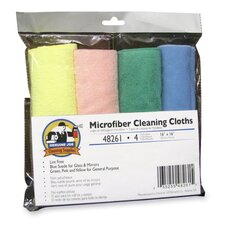 Microfiber Cleaning Cloths, Blue frost