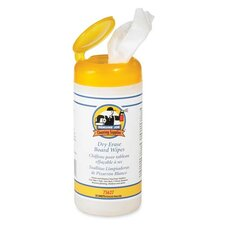 Dry-erase Board Cleaning Wipes, White