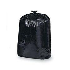 42 Gal Contractor Cleanup Trash Bags, Black