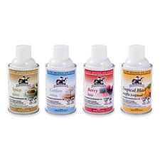 Metered Aerosol Air Fresheners, White