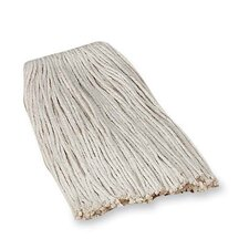 Economy Cotton Mop Refills, 4-Ply, Good Absorption, White