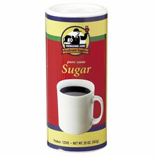 Pure Cane Sugar Canister, White, 3/CT