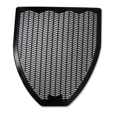 Deodorizing Z-Mat, Urinal Mat, Black