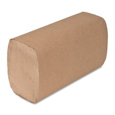 Single-Fold Paper Towels - 4000 Sheets per Carton