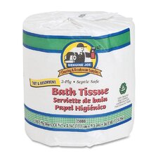 Embossed 2-Ply Toilet Paper -  550 Sheets per Rolls / 80 Roll per Pack