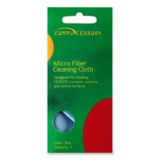 Compucessory Optical-grade Screen Cleaning Wipe, Blue