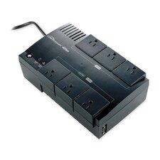 Compucessory 8-Outlet 425V/350W UPS Backup System, Silver