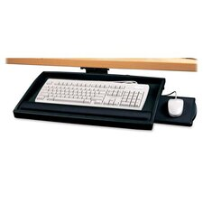 <strong>Compucessory</strong> Compucessory Articulating Arm Keyboard Drawer, Putty