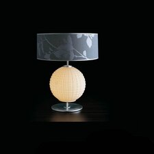"Blum Ball 21.25"" H Table Lamp with Drum Shade"