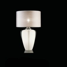 Lybra Table Lamp with Drum Shade