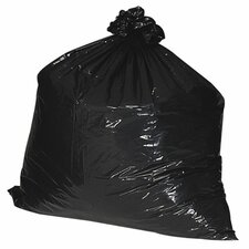 55-60 Gallon Recycled Trash Bags, 1.8mil, 100 per Box
