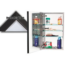 "15"" x 25"" Recessed Beveled Edge Medicine Cabinet"