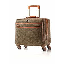 "Tweed Belting 14"" Spinner Suitcase"