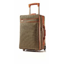 "Tweed Belting 22"" Spinner Suitcase"