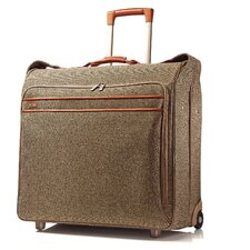 Tweed Belting Large Wheeled Garment Bag