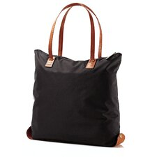 Hudson Belting Folding Shopper Tote Bag