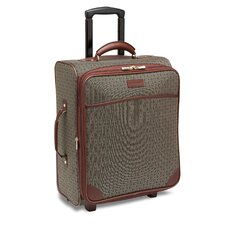 "Wings 20"" Expandable Mobile Traveler Wide in Cognac"