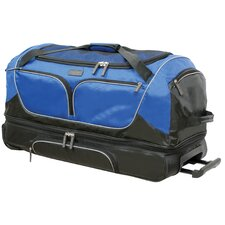 "Geoffrey Beene 30"" Double Decker 2 Wheel Duffle"