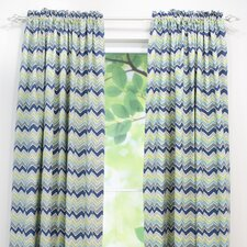 See Saw Cotton Rod Pocket Curtain Single Panel