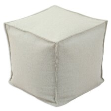 <strong>Chooty & Co</strong> Linen Seamed Beads Hassock