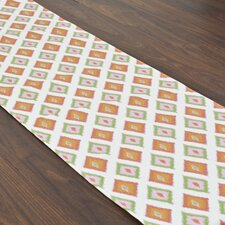Carnival Gumdrop Topstitched Table Runner