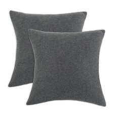Fleece Simply Soft D-Fiber Pillow (Set of 2)