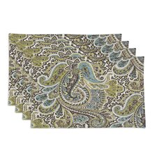 <strong>Chooty & Co</strong> Paisley Placemat (Set of 4)