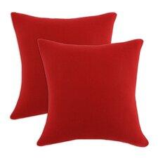 Fleece Simply Soft D-Fiber Pillow (Set of 2)