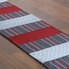 Multi Stripe Pieced Table Runner