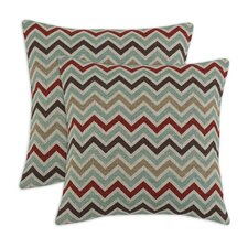 Zoom Zoom Denton Fiber Pillow (Set of 2)