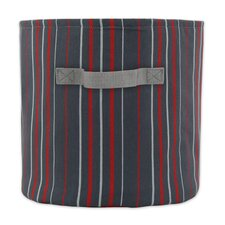 Multi Stripe Soft Sided Storage Container