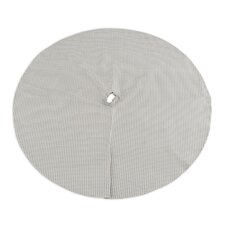 """53"""" Houndstooth Storm Twill Round Lined Tree Skirt"""