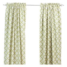Macie Linen Rod Pocket Curtain Panel