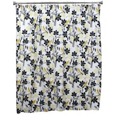 "<strong>Chooty & Co</strong> 72"" Small Talk Blackbird Shower Curtain"
