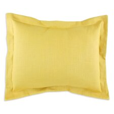 Linen Circa Solid Pina S-Backed Sham