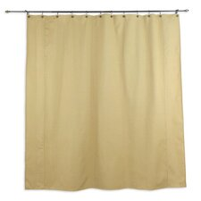 Oriole Standard Cut Cotton Shower Curtain