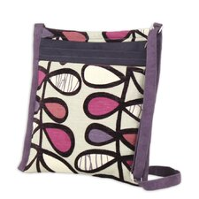 Amari Plum Aubergine Padded Ipad Cross-Body