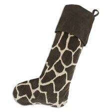 Giraffe Christmas Stocking