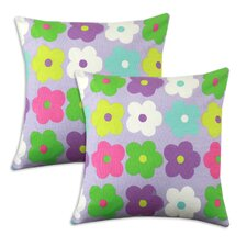 Happy Days Cotton Pillow (Set of 2)