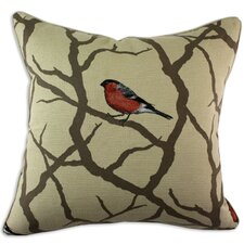 Pyrrhula Corded Cotton Pillow